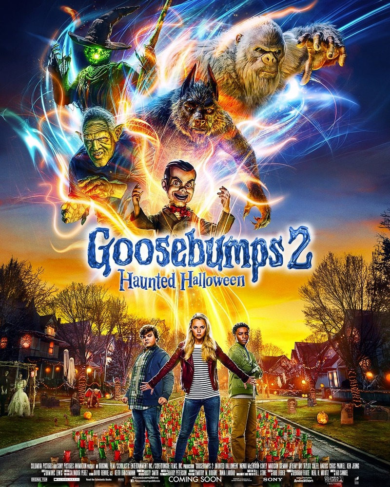 The Goosebumps 2 Haunted Halloween